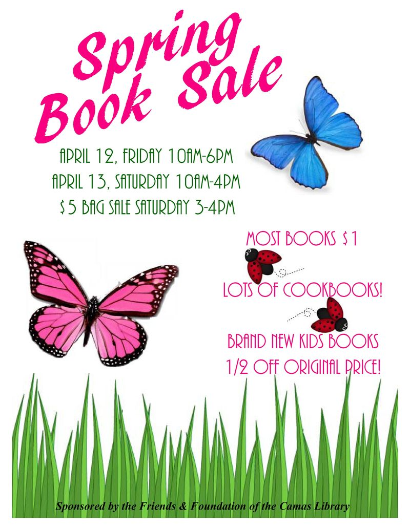 Book sale april
