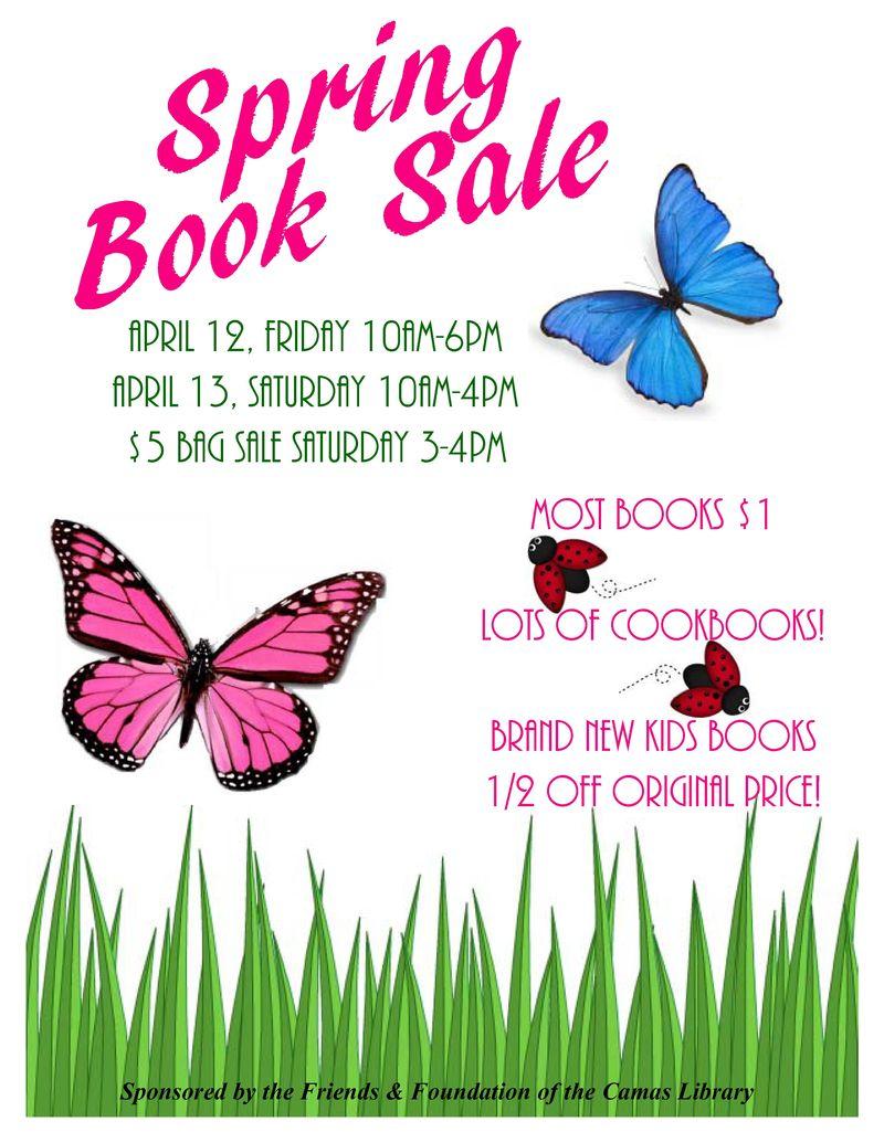 Book sale april
